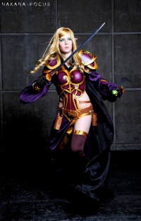 Koni Cosplay as Blood Elf