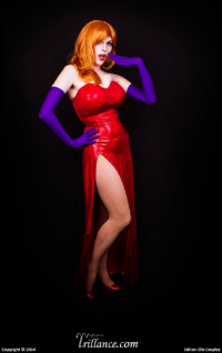 Lossien as Jessica Rabbit