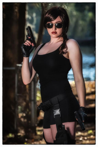 Leah Burroughs as Lara Croft