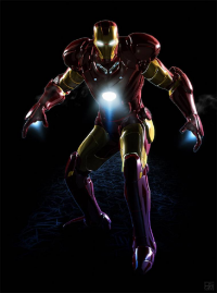 Iron Man from archangelgabriel
