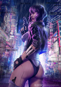 Motoko Kusanagi from Glorya Art