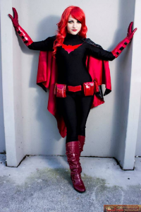 Veron Model as Batwoman