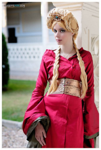 Thelema Therion as Cersei Lannister