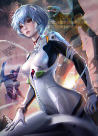 Rei Ayanami from Sakimi Chan