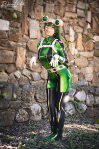 Ale Tanooki as Froppy the Frog Girl