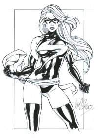Ms. Marvel from Elias Chatzoudis