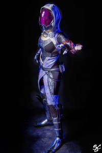Lilith Cos as Tali'Zorah nar Rayya
