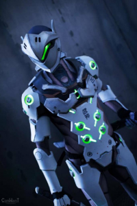 Just Cosplay & Props as Genji