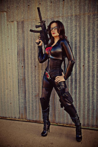 Scarlett Reign as The Baroness