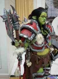 Phaleure Cosplay as Warsong Commander