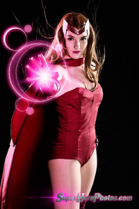 Kay Jay Cosplay as Scarlet Witch