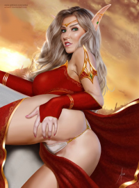 Blood Elf from Arionart