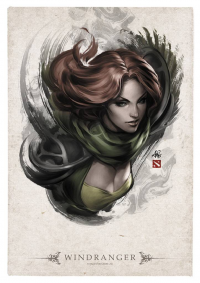 Windranger from Stanley Lau