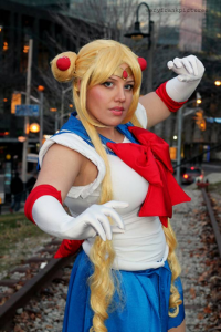 Moo Berry Cosplay as Sailor Moon