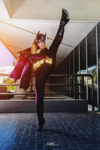 Courtoon as Batgirl