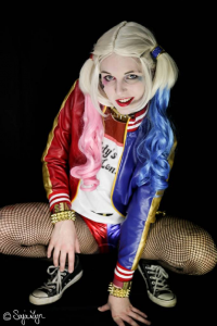 Sajalyn as Harley Quinn