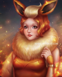 Flareon from Nindei