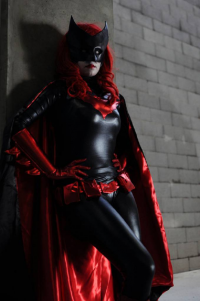 Khainsaw as Batwoman