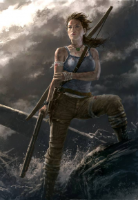 Lara Croft from Andy Park