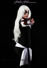 PureLight Cosplay as Black Cat