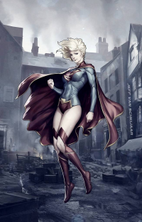 Supergirl from Jeffery Van Schkijaar