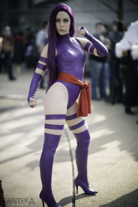 Yuffie Bunny Cosplay as Psylocke
