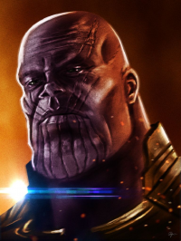 Thanos from Sahin Düzgün
