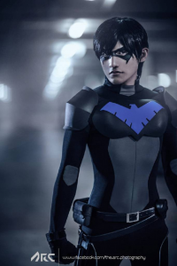 Liui Aquino as Nightwing