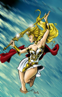 She-Ra from Carlos De Anda