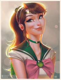 Sailor Jupiter from Leandrofranci