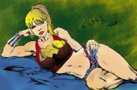 Wonder Girl from Austin Russell