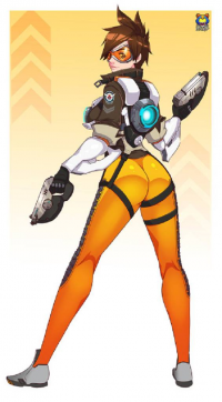 Tracer, Widowmaker from Kyoffie Ilustrator