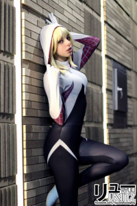 Ryuu Lavitz as Spider Gwen