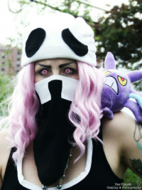 Nikkimomo's Cosplay as Team Skull Grunt
