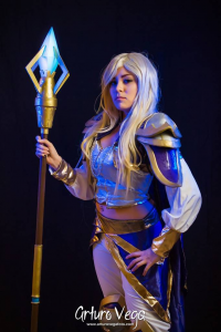 Lizzy Dcroown as Jaina Proudmore
