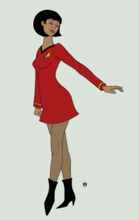Nyota Uhura from Shannon Allen