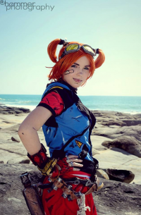 Shiiva Cosplay as Gaige
