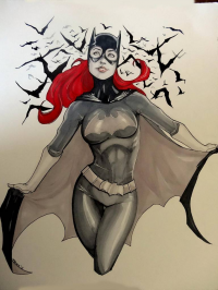 Batgirl from Andrew Black
