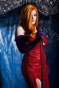 AnonJames as Jessica Rabbit