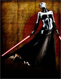 Asajj Ventress from Scott Harben
