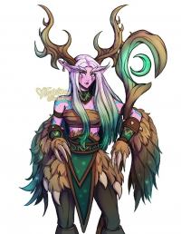 Malfurion Stormrage from Faebelina