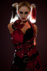 Suzanne Jude as Harley Quinn