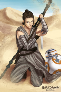 Rey from Boradraws