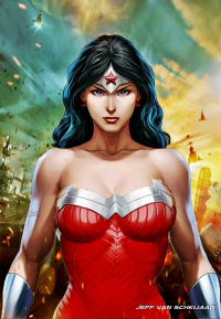 Wonder Woman from Jeffery Van Schkijaar