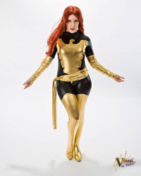 Kitteninstrings Cosplay as Dark Phoenix