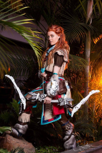 Tiffany Dean Cosplay as Aloy