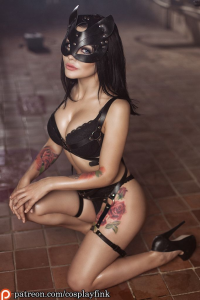 Christina Fink as Cat Girl