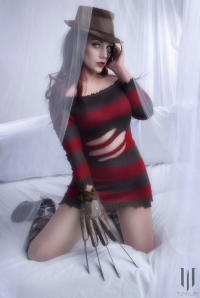 Jennifer van Damsel as Freddy Krueger