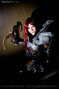 Lilia Lemoine as Demon Hunter