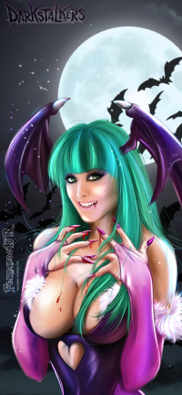Morrigan Aensland from Fernando Neves Rocha